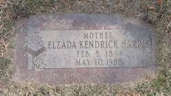 Elzada <i>Kendrick</i> Harris