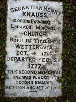 Sebastian Henry Knauss