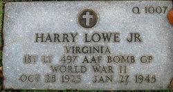 Harry Lowe, Jr