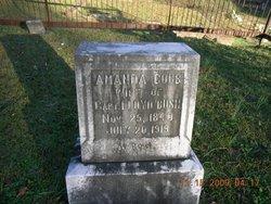 Sarah Amanda <i>Cobb</i> Bush