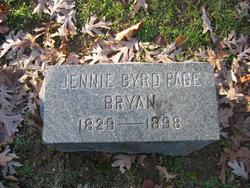 Jennie Byrd <i>Page</i> Bryan