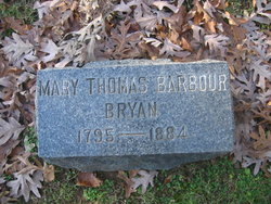 Mary Thomas <i>Barbour</i> Bryan
