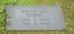 Mattie Lee Curry