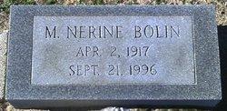 Minnie Nerine Bolin