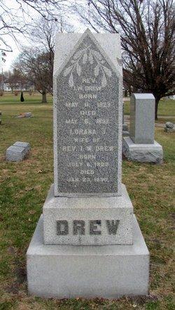 Rev Isaac W Drew