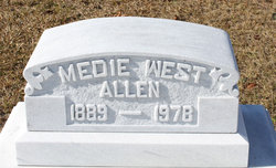 Medie <i>West</i> Allen