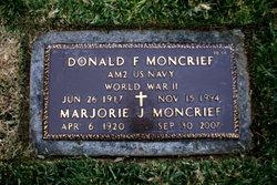 Marjorie Jean <i>Gearhart</i> Moncrief