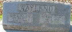 Norma <i>Adams</i> Wayland