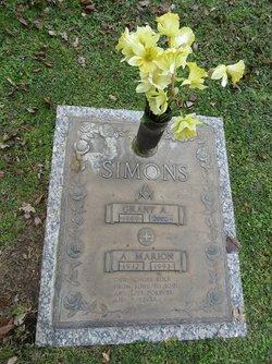 A Marion Simons