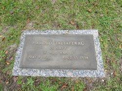 Harold Taliaferro