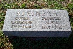 Alpha Atkinson