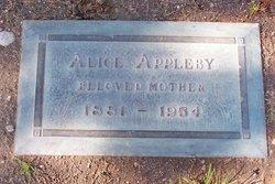 Alice <i>Wilson</i> Appleby