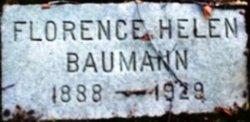 Florence Helen Baumann