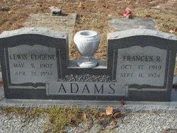 Lewis Eugene Adams