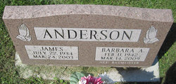 Barbara A <i>Baumeister</i> Anderson