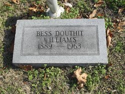 Bess <i>Douthit</i> Williams