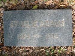 Ethel D. <i>Dickens</i> Adams