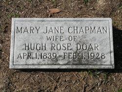 Mary Jane <i>Chapman</i> Doar