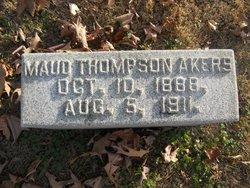 Maud <i>Thompson</i> Akers