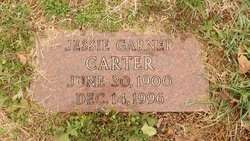 Jessie Mae <i>Garner</i> Carter