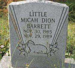 Micah Dion Barrett