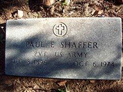 Paul E Shaffer