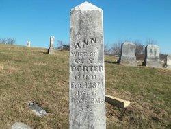 Eva Ann <i>Bailey</i> Porter