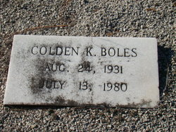 Colden Kholeil Boles