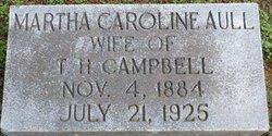 Martha Caroline <i>Aull</i> Campbell