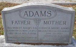 Eudocia <i>Moore</i> Adams