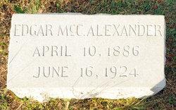 Edgar McCosh Alexander