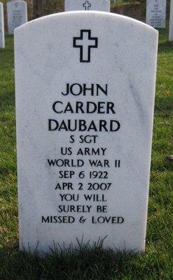 John Carder Daubard