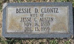 Bessie D <i>Clontz</i> Austin
