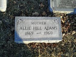 Allie <i>Hill</i> Adams