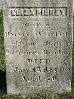 Eliza <i>Pinney</i> Wakefield