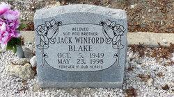 Jack Winford Blake