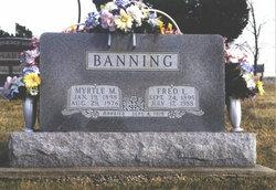 Myrtle M <i>Banning</i> Banning