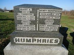 Sarah <i>Knight</i> Humphrey