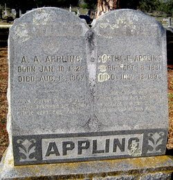 Martha E. <i>Stanley</i> Appling