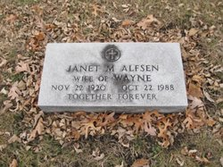 Janet M. <i>Gaulke</i> Alfsen
