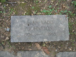 Alan Ladd Johnston