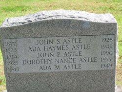 Ada M Astle