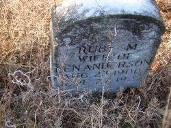 Ruby Mae <i>Corley</i> Anderson