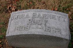 Cora <i>Barnett</i> Rudy