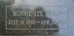 Minnie Lee <i>Bell</i> Banks