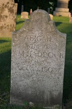 Abigail Eastman <i>Webster</i> Haddock