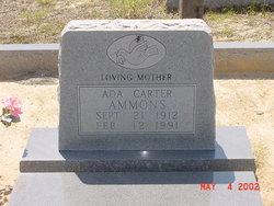 Ada Carter <i>Infinger</i> Ammons