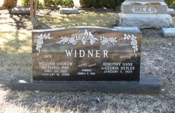 William Richard (Dick) Widner