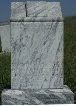 Martha Ellen <i>Tilley</i> Harrison