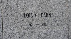 Lois Virginia <i>Genet</i> Dahn